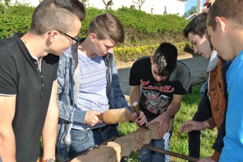 Erdélyi diákcsoport látogatása