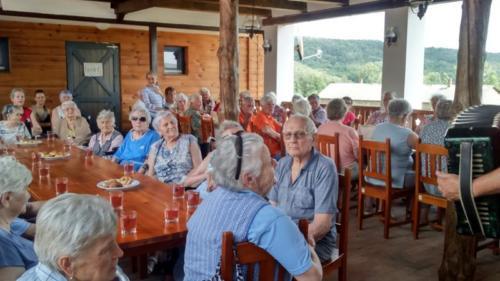 Gyöngyössolymosi Nyugdíjas Klub látogatása