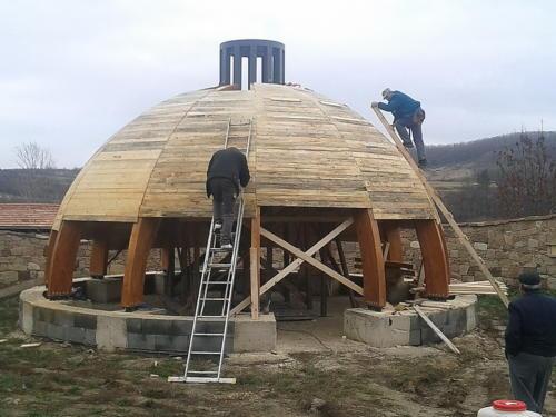 Kápolna építése