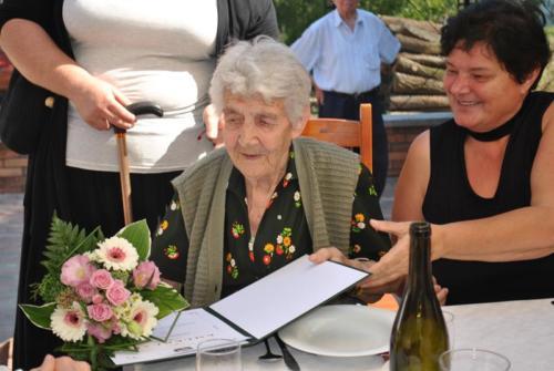 10. molnár józsefné 90 éves lett